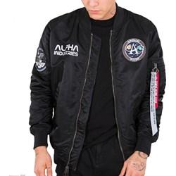 7fba37635271 Kurtka męska Alpha Industries nylonowa w stylu młodzieżowym