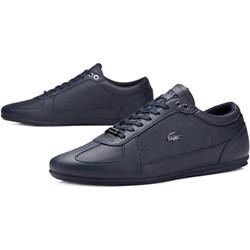 6a0f8e31e7aa1b Granatowe buty męskie lacoste sznurówki w wyprzedaży, lato 2019 w Domodi