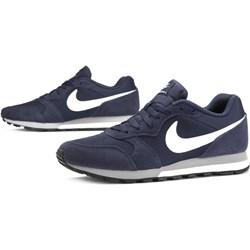 check out 4aa6a 08b15 Buty sportowe męskie Nike niebieskie sznurowane