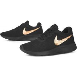 b35acfc24e3c Buty sportowe damskie czarne Nike tanjun bez wzorów