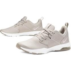 2d57cc0b1ca8 Buty sportowe damskie Nike do biegania na wiosnę bez wzorów szare płaskie