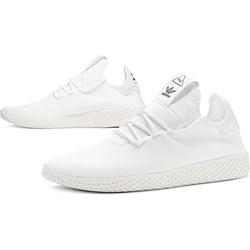 2720b3f9 Buty sportowe męskie białe Adidas pharrell williams wiązane