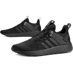 56b775c4cc95c Buty sportowe męskie Adidas czarne wiązane
