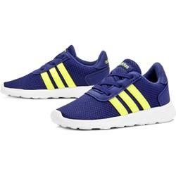 a6355d0f931fd Buty sportowe dziecięce Adidas wiązane bez wzorów