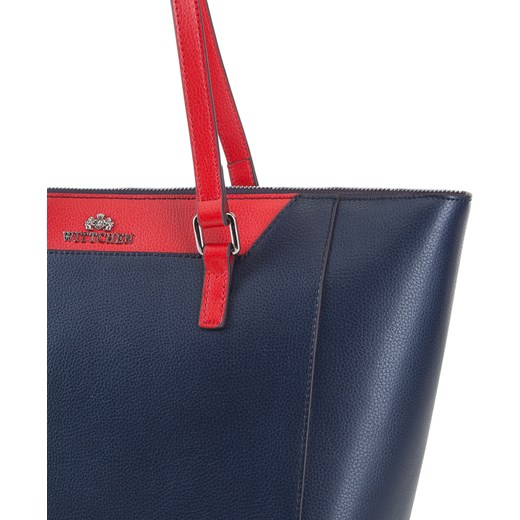 5ab4f1eeba349 ... na ramię  Shopper bag Wittchen elegancka skórzana  Shopper bag Wittchen  skórzana elegancka bez dodatków