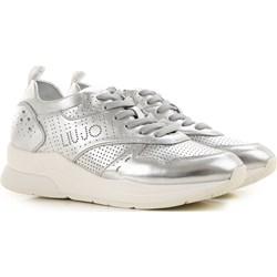 a58ae0a4c38bd Buty sportowe damskie Liu jo casualowe w stylu młodzieżowym gładkie płaskie  sznurowane