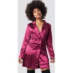 fd4cb5e396 Sukienka Glamorous z długimi rękawami bez wzorów