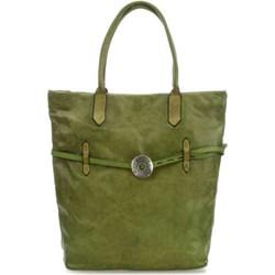 7a618b69b68aa Shopper bag Campomaggi bez dodatków ze skóry