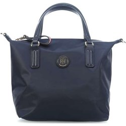 Shopper bag Tommy Hilfiger do ręki bez dodatków