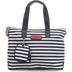 f7742b82fa89d Shopper bag Tommy Hilfiger na ramię z nylonu