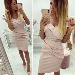 b66e07c609 Sukienka na wieczór elegancka różowa