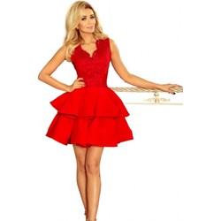 91e966a914 Sukienka Numoco mini balowe na studniówkę wiosenna bez rękawów