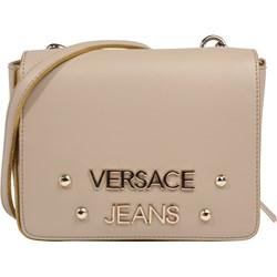 caa4d3af9dc8d Listonoszka Versace Jeans beżowa sportowa