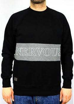 CREWNECK NERVOUS LANE BLACK  Nervous highfiveshop.pl okazja  - kod rabatowy
