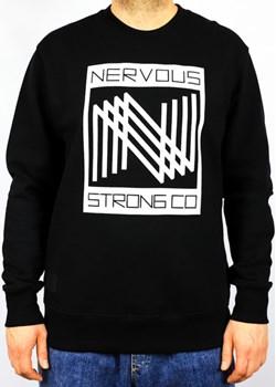 CREWNECK NERVOUS TRIPLE BLACK  Nervous highfiveshop.pl okazja  - kod rabatowy