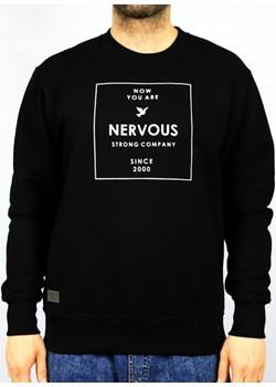 CREWNECK NERVOUS LIGHTBOX BLACK  Nervous highfiveshop.pl okazyjna cena  - kod rabatowy