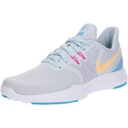 4c9936dce70e4 Buty sportowe damskie Nike białe na płaskiej podeszwie sznurowane