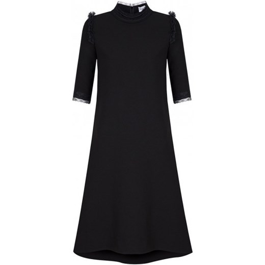 27f618f652 Sukienka z koronką czarna Kasia Miciak Design czarny showroom.pl w ...