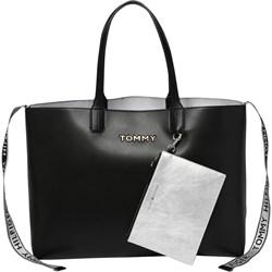 98d67e0131978 Shopper bag Tommy Hilfiger duża wakacyjna ze skóry