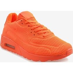 2549a89188431 Pomarańczowe buty sportowe męskie
