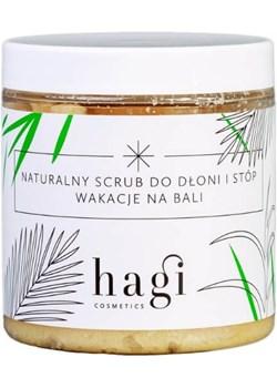 Hagi Naturalny scrub do dłoni i stóp Wakacje na Bali, 330ml  Hagi EcoAndWell.pl - kod rabatowy