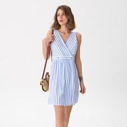 332736d071 House sukienka w paski bez rękawów