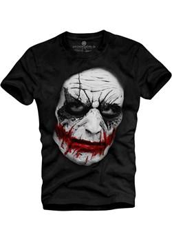 T-shirt Męski Underworld morillo czarny bawełna - kod rabatowy