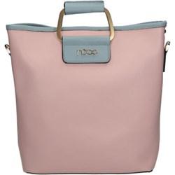 6d07246a72fac Shopper bag Nobo elegancka duża matowa bez dodatków