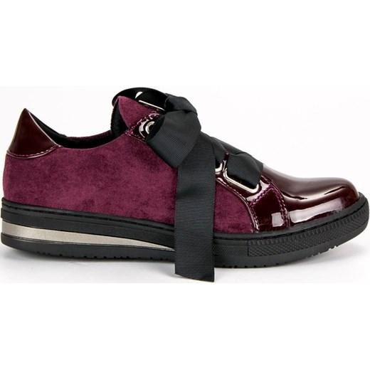 Buty sportowe damskie Flippo w stylu casual z zamszu