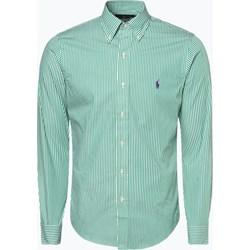 219aa323a95a Koszula męska Polo Ralph Lauren zielona z długimi rękawami