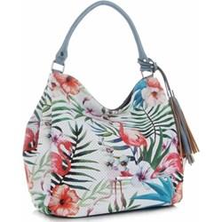 2556efb89471b Shopper bag Silvia Rosa z nadrukiem wielokolorowa