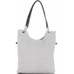 e162435b7909e Shopper bag Genuine Leather zamszowa