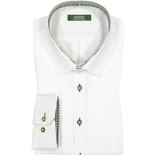 dobry Arido, Koszula ludowa z kieszenią na piersi Brak  y1Dk8