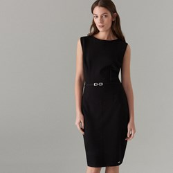 0dd2a6fd95 Sukienka Mohito z okrągłym dekoltem gładka elegancka
