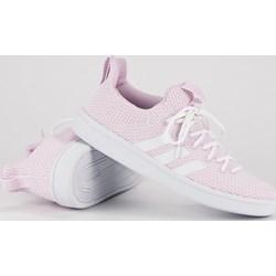 b8a9c168ad8d3 Trampki damskie Adidas na płaskiej podeszwie sportowe sznurowane bez wzorów