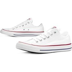 81429cd371457 Trampki męskie Converse białe młodzieżowe sznurowane