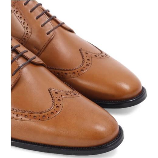 b11468733b629c ... Brilu.pl buty eleganckie męskie skórzane sznurowane ...