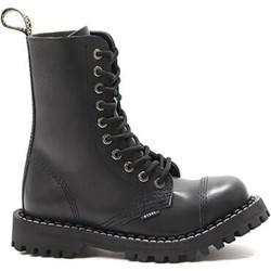 d96c357ca2d8b Czarne buty zimowe męskie Steel