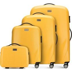 8a4556cee2866 Żółte walizki i torby podróżne wittchen, wiosna 2019 w Domodi