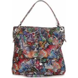 0acb794ef1ad1 Shopper bag Vittoria Gotti wielokolorowa skórzana