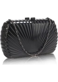 Metalowa szkatułka torebka wizytowa czarna Evangarda.pl - kod rabatowy