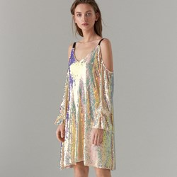 eb1fc60488 Sukienka Mohito na wieczór wielokolorowa midi elegancka