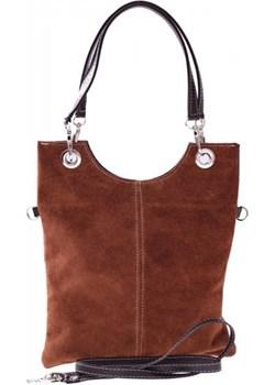 Torebki skórzane Listonoszki w Atrakcyjne Cenie Brązowa (kolory) Genuine Leather brazowy PaniTorbalska - kod rabatowy