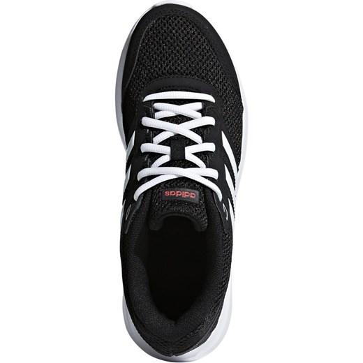 878b763c ... Czarne buty sportowe damskie Adidas dla biegaczy płaskie sznurowane bez  wzorów na wiosnę ...