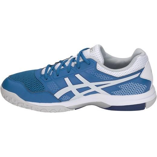 257ea3876 ... Buty sportowe męskie Asics sznurowane niebieskie ...