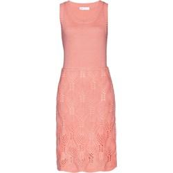 5b3394052e Sukienka BPC Selection na spacer z okrągłym dekoltem prosta midi