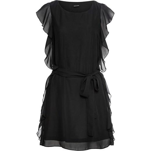 ca7094e525 BODYFLIRT sukienka z okrągłym dekoltem casual na imprezę prosta w Domodi