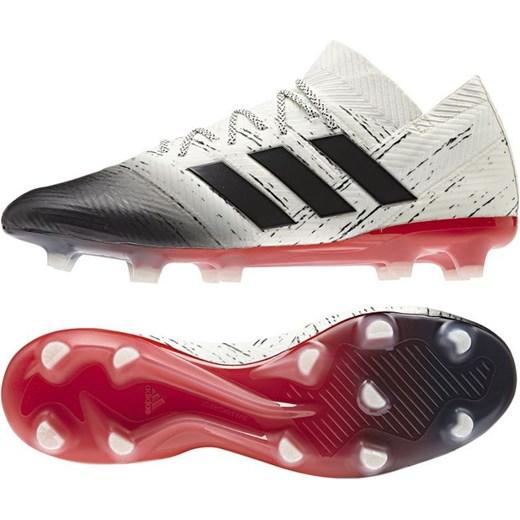 Buty sportowe męskie Adidas nemeziz sznurowane białe Buty
