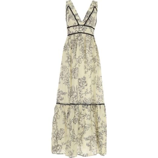 5eee82436b Sukienka Twin Set By Simona Barberi na bal maxi na sylwestra bez rękawów  prosta