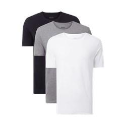 fa1666b96bf9a T-shirt męski wielokolorowy Boss z krótkim rękawem